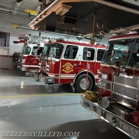 Engine 27 and Montgomery County Ladder 38 (East Greenville) covered Station 57 for about 1.5 hours.